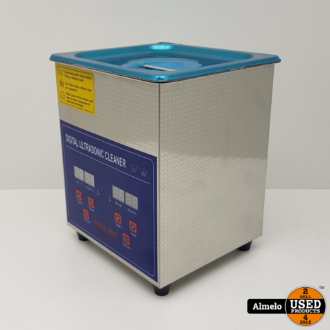 2l Digital Stainless Ultrasonic Cleaner Ultra Sonic Cleaning *Nieuw*