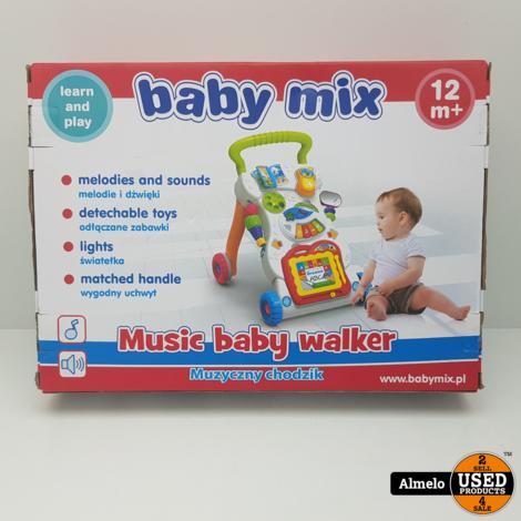 Baby Mix Music Baby Walker *Nieuw*