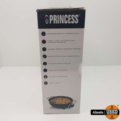 Princess Multi Wonder Chef Pro Hapjespan - 35 cm *Nieuw*