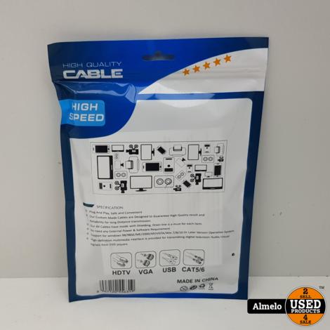 HDMI Switch - Splitter - 3 In naar 1 Uit - 4K - Ultra HD - 1080 - Full HD *Nieuw*