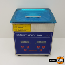 Ultrasonic Cleaner 1.3l Digital Stainless Ultrasonic Cleaner Ultra Sonic Cleaning *Nieuw*