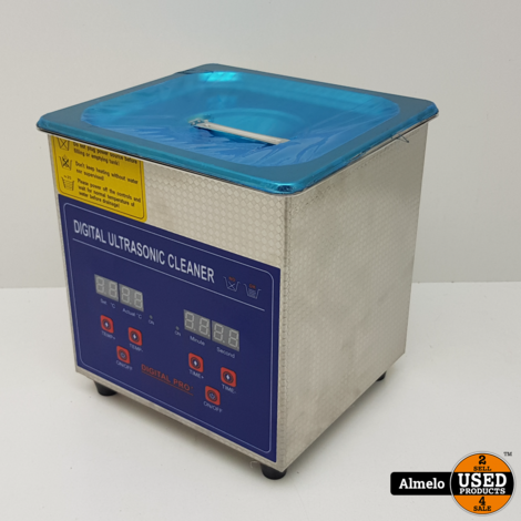 1.3l Digital Stainless Ultrasonic Cleaner Ultra Sonic Cleaning *Nieuw*