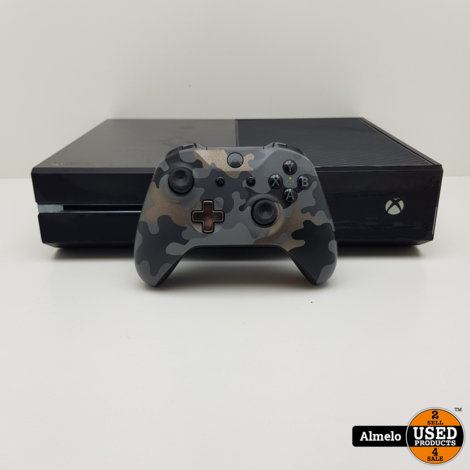 Xbox One 500GB met Camo Controller