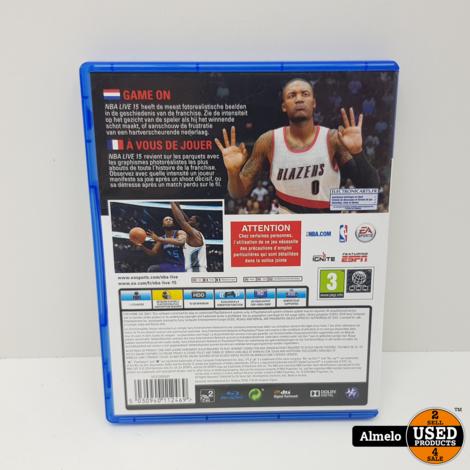 Sony Playstation 4 NBA Live 15