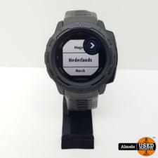 Garmin Garmin Instinct - Robuuste multisport smartwatch - Graphite