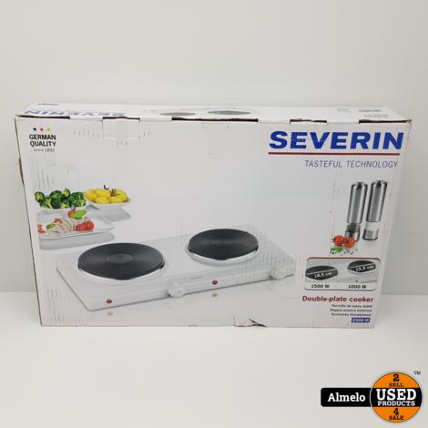Severin dubbele kookplaat DK1042 *Nieuw*