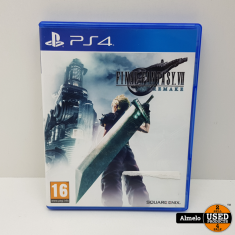 Sony Playstation 4 Final Fantasy VII Remake