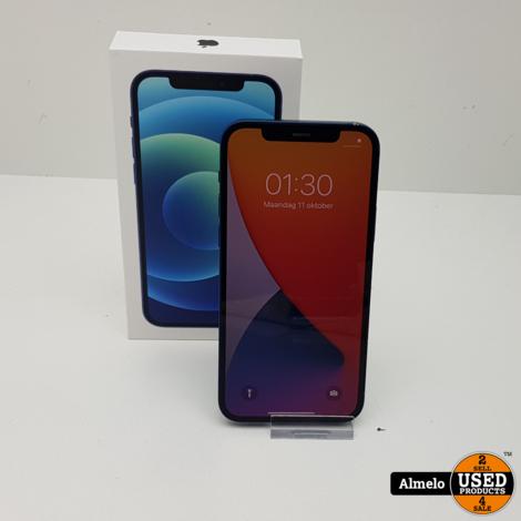 iPhone 12 64GB Blue met doos en   3 maanden garantie  