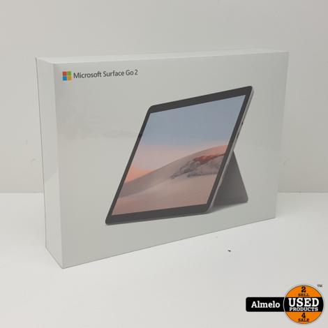 Microsoft Surface Go 2 64GB Zilver Touchscreen | Nieuw Geseald |
