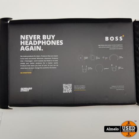 Gerrard Street BOSS – koptelefoon - Met microfoon - Bluetooth - Reparaties Inbegrepen – Draadloos *Nieuw*