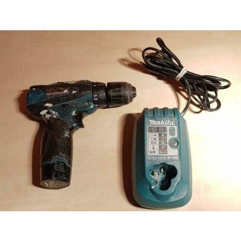 Makita df330d Schroefmachine 10.8V + lader