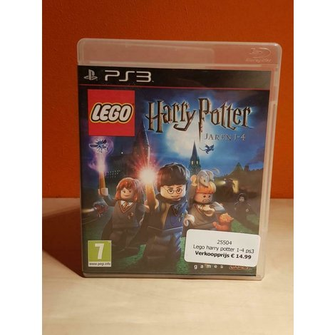 Lego harry potter 1-4 ps3