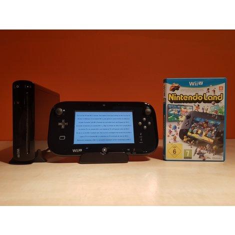 Nintendo Wii U Zwart 32gb + Nintendoland