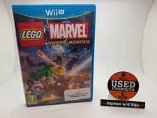 Nintendo Lego marvel super heroes Wii U