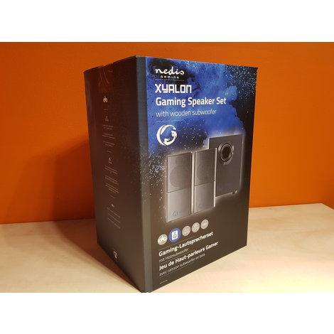 Nedis Zyalon Gaming Speaker Set 2.1 | 33w | NIEUW
