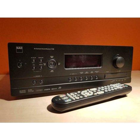 NAD T755 receiver HDMI  + ab en handleiding