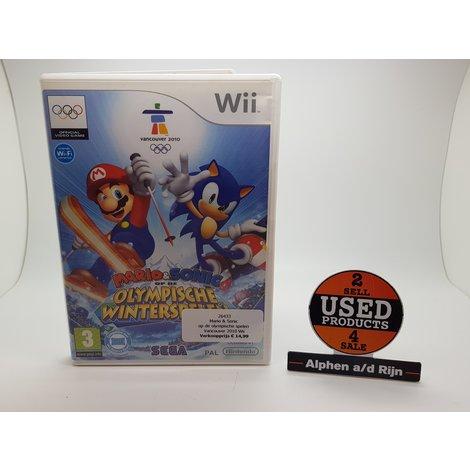 Mario & Sonic op de olympische spelen Vancouver 2010 Wii