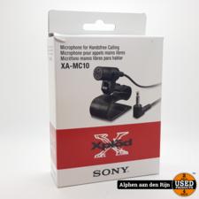 Sony XA-MC10 handsfree bellen