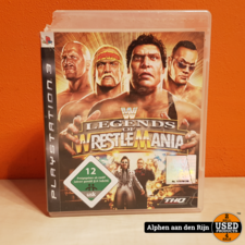 Sony wwe legends of wrestlemania ps3