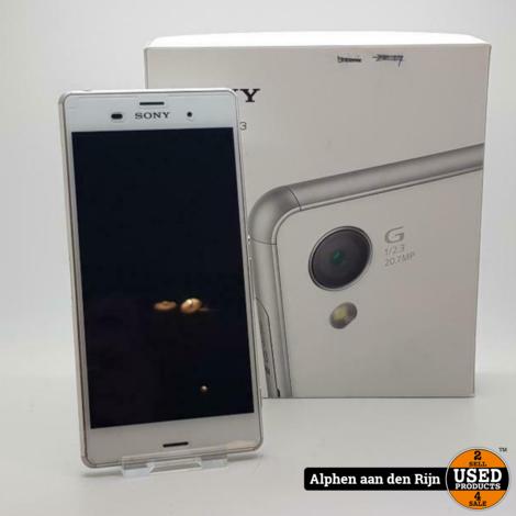 Sony Xperia Z3 wit + doos
