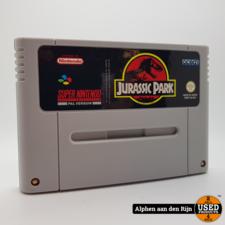 Jurassic park snes + boekje