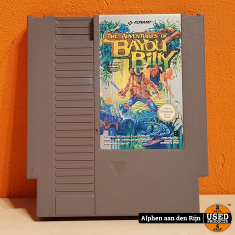 the Adventures of Bayou Billy nes