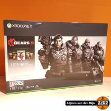 Xbox one X 1tb + Gears 1 t/m 5 NIEUW + 3 maanden