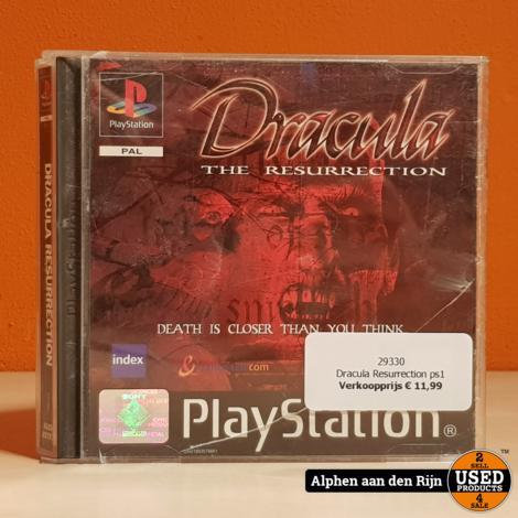 Dracula Resurrection ps1