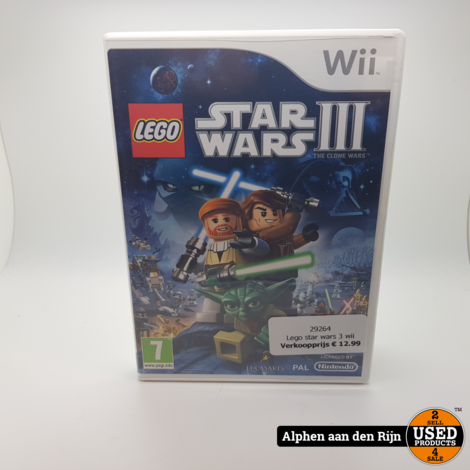 Lego star wars 3 wii