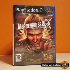 Mercenaries 2 world in flames ps2