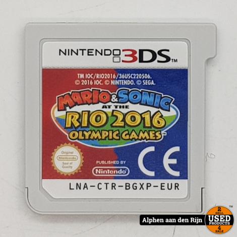 Mario & Sonic op de olympische spelen Rio 2016 los