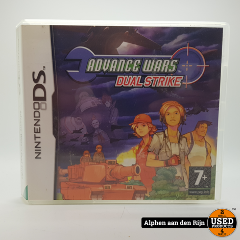 Advance wars dual strike DS