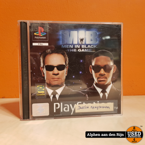 Men in black ps1