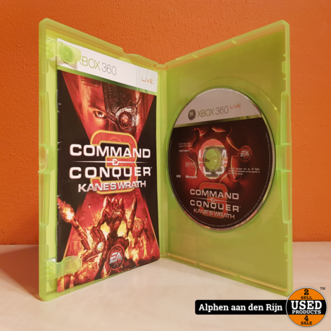 Comand and conquer 3  kane's wrath Xbox 360