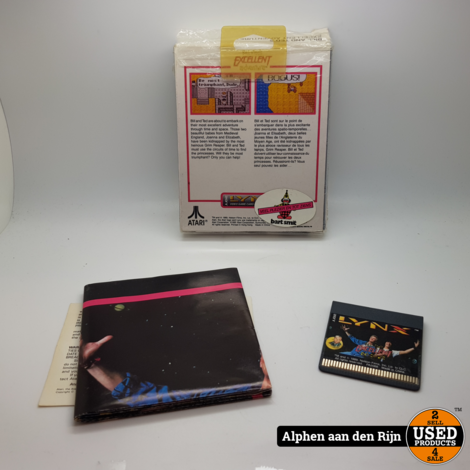 Bill & Ted Atari lynx