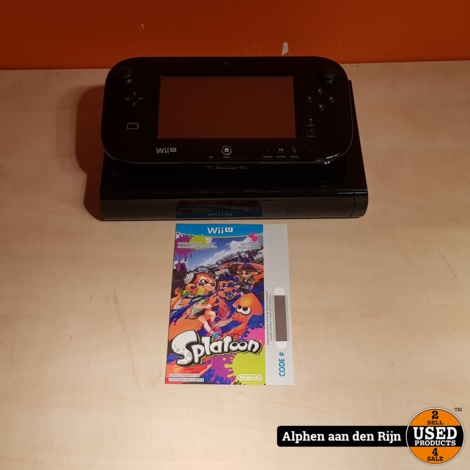 Wii U in doos + Mariokart + Splatoon