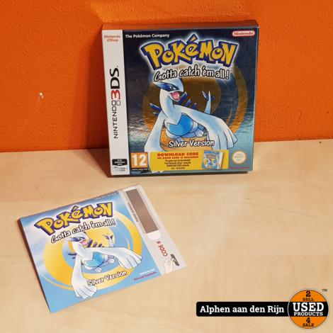 Pokemon Silver Download nieuw 3DS