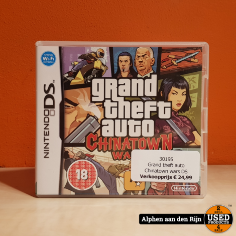 Grand theft auto Chinatown DS