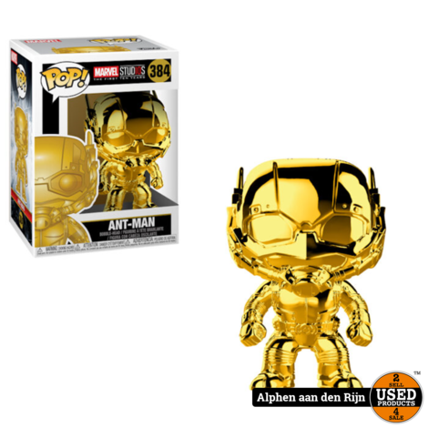 Funko Pop! Marvel ms 10 Antman Chrome