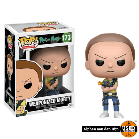 Funko Pop! Rick & Morty weaponised Morty