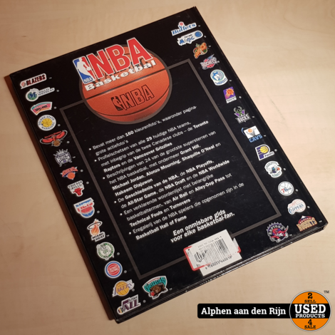 NBA basketbal boek