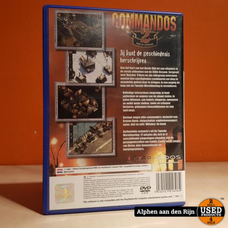 Commandos 2: men of valor ps2