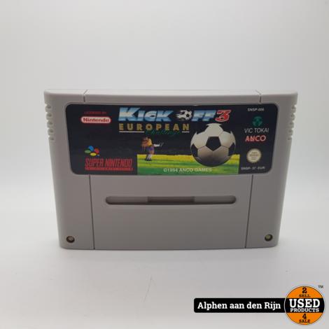 Kick off 3 snes