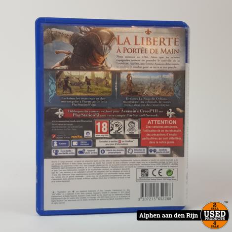 Assassins creed Liberation PS Vita