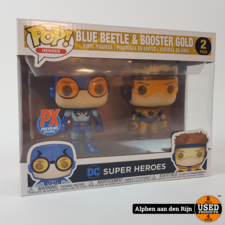 Funko 2 pack Blue beetle & booster gold