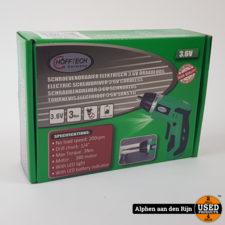 Hofftech Elektrische schroevendraaier 3.6v draadloos nieuw