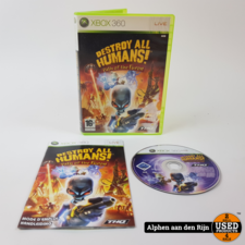 Destroy all humans path of the furon xbox 360