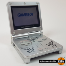 Gameboy advanced SP tribal