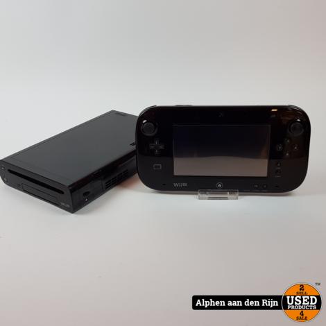 Wii u 32gb zwart