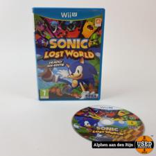 Sonic the lost world wii u